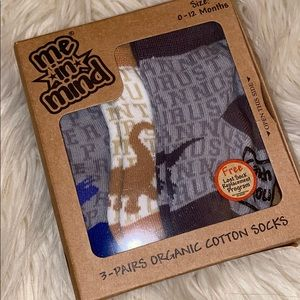 🔥 3/$15 🔥 Set of Three Dinosaur Socks